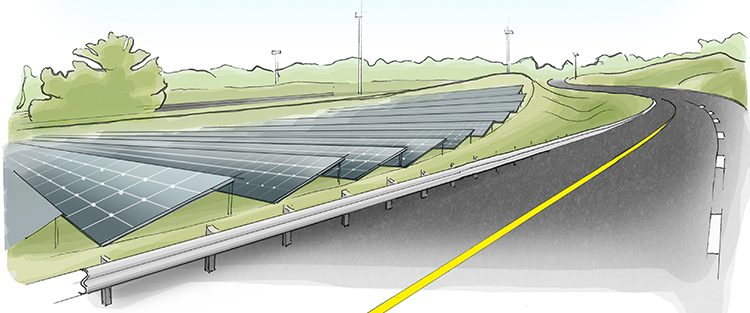 Solar Road Pilot Is Built In Rural Georgia