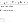 На сайте Triangle Microworks доступен онлайн инструмент для проверки конфигурационных файлов SCL
