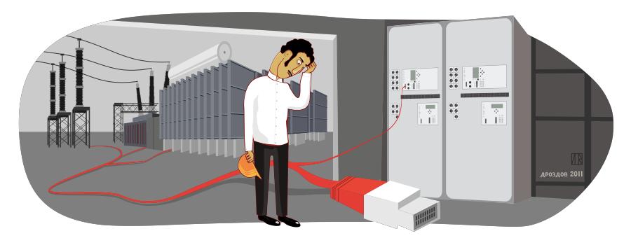 Ethernet // © Журнал «Релейщик»