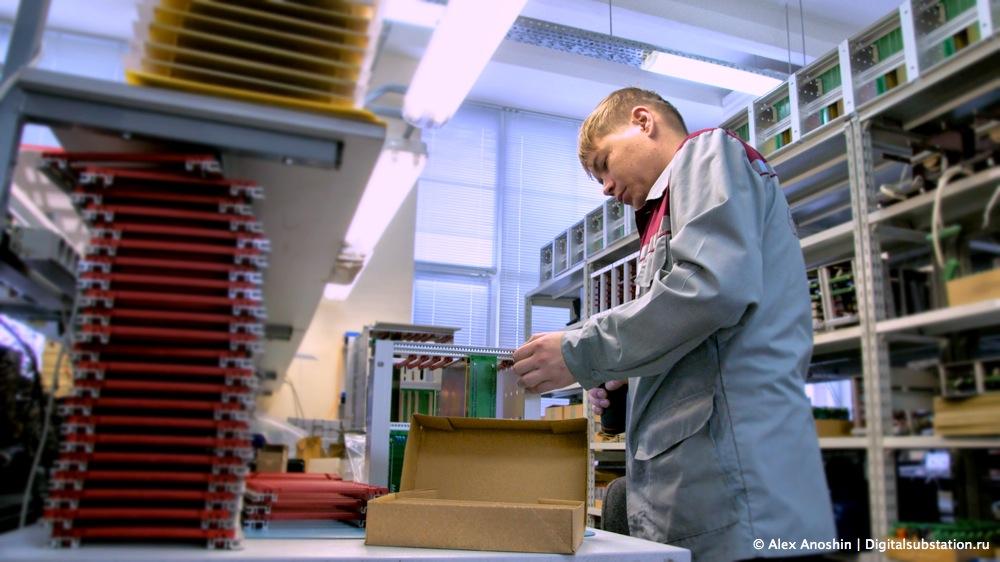 Производство ИЦ Бреслер // Фото: © Алексей Аношин // Цифровая подстания // Digitalsubstation.com