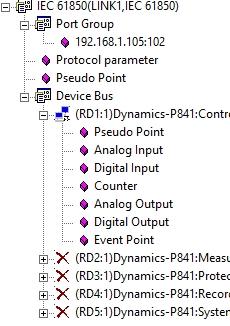 рисунок 18-Древо данных. Выбранных из ICD файла