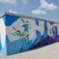 «Янтарьэнерго» украсило свои энергообъекты граффити с портретами футболистов